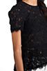 Image 5 of BCBGMAXAZRIA Evia Lace Top in Black