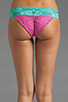 Image 2 of Beach Bunny Sugar Rush Lady Lace Bottom in Fuchsia