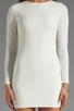 Image 5 of BEC&BRIDGE Estella Long Sleeve Backless Dress in Ivory