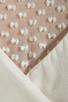 Image 6 of Beyond Vintage Silk Mixed Media Tank Dress in Gardenia