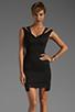 Image 1 of Black Halo Analisa Mini Dress in Black