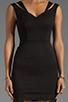 Image 5 of Black Halo Analisa Mini Dress in Black