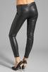 Image 3 of BLANKNYC Vegan Leather Legging in Pussy Cat