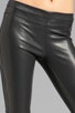 Image 4 of BLANKNYC Vegan Leather Legging in Pussy Cat