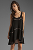 Image 1 of bless'ed are the meek Straight To The Point Dress in Black
