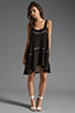 Image 2 of bless'ed are the meek Straight To The Point Dress in Black