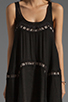 Image 5 of bless'ed are the meek Straight To The Point Dress in Black