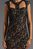 Image 5 of bless'ed are the meek Siren Queen Dress in Black