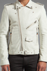 Image 5 of BLK DNM Leather Jacket 5 in Smoke White