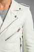 Image 6 of BLK DNM Leather Jacket 5 in Smoke White