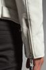 Image 7 of BLK DNM Leather Jacket 5 in Smoke White