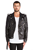 Image 1 of BLK DNM Leather Jacket 5 in Black