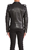 Image 4 of BLK DNM Leather Jacket 5 in Black