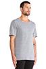 Image 2 of BLK DNM T-Shirt 3 in Light Grey Melange