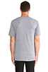 Image 3 of BLK DNM T-Shirt 3 in Light Grey Melange