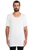 Image 1 of BLK DNM T-Shirt 12 in White