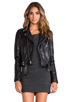 Image 1 of BLK DNM Leather Jacket 1 in Black
