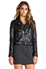 Image 3 of BLK DNM Leather Jacket 1 in Black