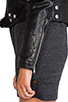 Image 7 of BLK DNM Leather Jacket 1 in Black