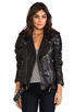 Image 1 of BLK DNM Leather Jacket 8 in Black