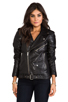 Image 2 of BLK DNM Leather Jacket 8 in Black