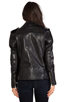 Image 4 of BLK DNM Leather Jacket 8 in Black