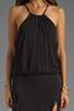 Image 5 of Blue Life Two Slit Halter Dress in Black