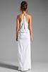Image 4 of Blue Life Two Slit Halter Dress in White