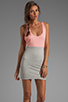 Image 1 of Blue Life Racer Back Dress in Heather/Apricot