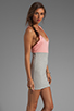 Image 3 of Blue Life Racer Back Dress in Heather/Apricot