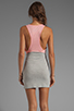 Image 4 of Blue Life Racer Back Dress in Heather/Apricot