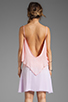 Image 4 of Blue Life Tie Dye Bachelorette Dress in Apricot Lavender