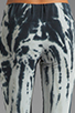 Image 6 of Blue Life Fitted Sweat Pant in Black/White Tie Dye