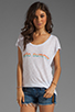 Image 1 of Blue Life Hello Summer Top in Hello