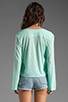 Image 2 of Blue Life Hayley Top in Mint