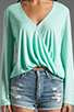 Image 3 of Blue Life Hayley Top in Mint