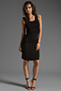 Image 2 of Bobi Tank Dress in Black