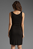 Image 4 of Bobi Tank Dress in Black