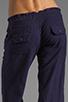 Image 6 of Bobi Linen Drawstring Pant in Yacht