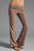 Image 1 of Bobi Linen Foldover Pant in Java