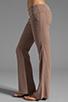 Image 2 of Bobi Linen Foldover Pant in Java