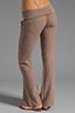Image 3 of Bobi Linen Foldover Pant in Java