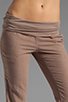 Image 4 of Bobi Linen Foldover Pant in Java