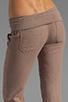 Image 6 of Bobi Linen Foldover Pant in Java