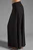 Image 2 of Bobi Supreme Jersey Maxi Skirt in Black