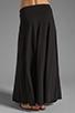 Image 3 of Bobi Supreme Jersey Maxi Skirt in Black