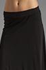 Image 4 of Bobi Supreme Jersey Maxi Skirt in Black