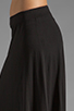 Image 5 of Bobi Supreme Jersey Maxi Skirt in Black