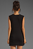Image 2 of Bobi Slub Pocket Tank in Black