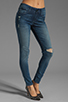 Image 1 of Black Orchid Mid Rise Skinny in Splash